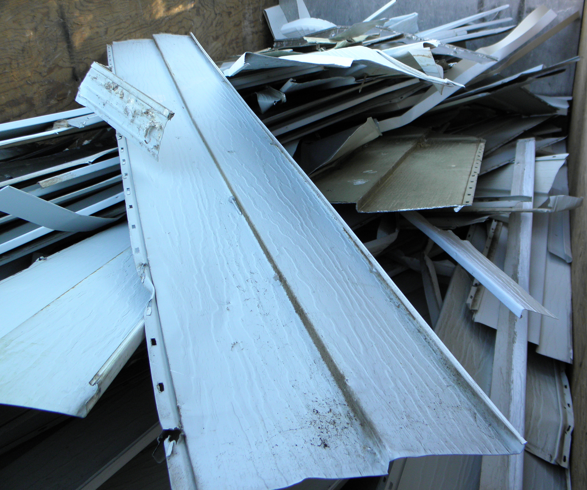 Steel Siding Recycled Materials : Aluminum siding scrap prices